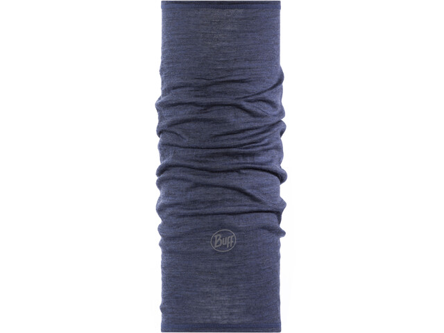 Buff Lightweight Merino Wool Komin Dzieci, solid denim